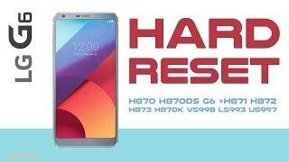 Hard Reset LG G6 and LG G + | Factory Reset