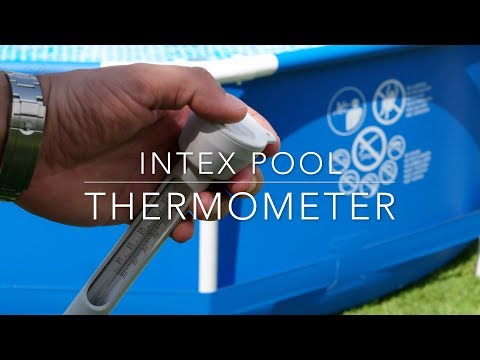 Intex pool thermometer