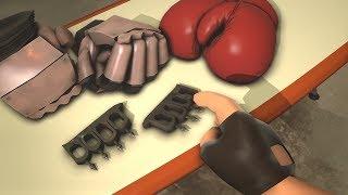 TF2: Арсенал Наемников - Оружие Ближнего Боя Пулеметчика!