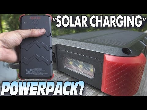 """""""SOLAR PANEL"""" Power Bank Any Good? 20000mAh USB Battery Pack w/ QUICK CHARGE 3.0 – REVIEW"""