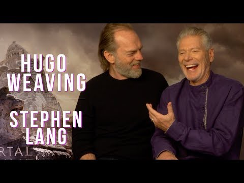 Hugo Weaving and Stephen Lang interview for MORTAL ENGINES