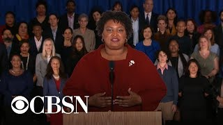 Stacey Abrams Delivers Democratic Rebuttal To The State Of The Union