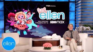 'Little Ellen' Gets Into the Halloween Spirit