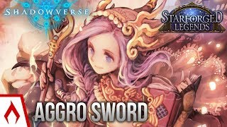 [Shadowverse] A New Breed of SMOrc - Aggro Swordcraft Deck Gameplay