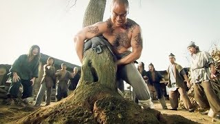 Man with super strength, Tree uprooted by hand