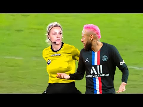 Rare Moments With Female Referees