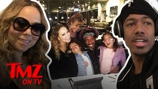 Mariah Carey And Nick Cannon Are One Big Happy Family  TMZ TV