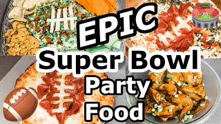 HOW TO HOST A SUPER BOWL PARTY // FOOTBALL THEMED PARTY FOOD  // WHAT TO BRING TO A SUPER BOWL PARTY