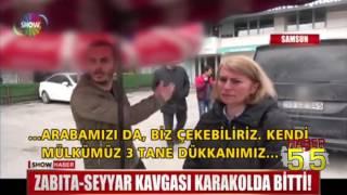 SAMSUN'DA SEYYARIN FENDİ ZABITAYI BÖYLE YENDİ!