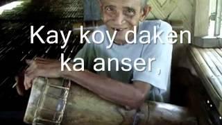 """""""Lantege"""" (a Pala'wan & Tagbanua Love Song)"""
