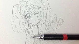 Draw A Manga Girl (Real Time)
