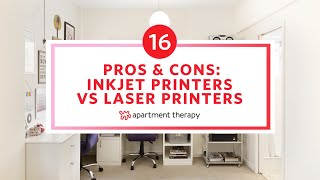 Pros & Cons for Home Use: Inkjet vs. Laser Printers | Apartment Therapy