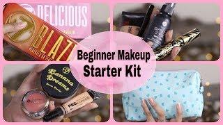 BEGINNER MAKEUP STARTER KIT - Affordable Drugstore Makeup Kit 2018