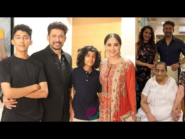 Madhuri Dixit Family Members With Husband Sons Father Mother
