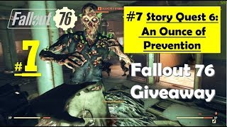 Fallout 76 - An Ounce of Prevention - Study Hudson's Research - Collect Blood Samples