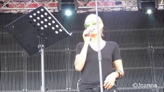 Sarah Connor - Leave With A Song (Soundcheck) (Kronefest Linz)
