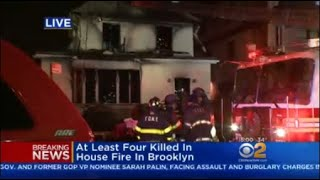 Mother, 3 Children Killed In Brooklyn Fire