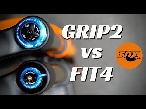 Fox GRIP2 vs FIT4  /  Which is best for you?