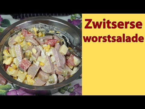 NL-043 Zwitserse worstsalade