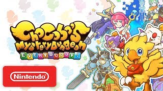 Chocobo Mystery Dungeon EVERY BUDDY! - Launch Trailer - Nintendo Switch