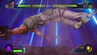 MARVEL VS. CAPCOM: INFINITE Dante & Chris vs Venom & Black Panther