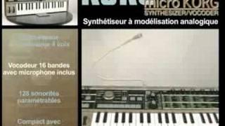 Korg MicroKorg - Video