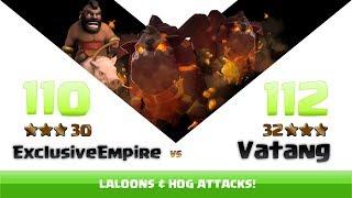 Clash of clans | Exclusive Empire vs Vatang | 30:32