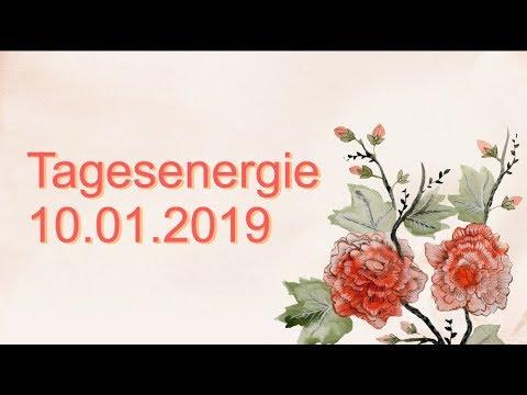 Fernöstliche Tagesenergie: 10.01.2019 (Donnerstag)