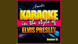 Are You Lonesome Tonight (In The Style Of Elvis Presley)