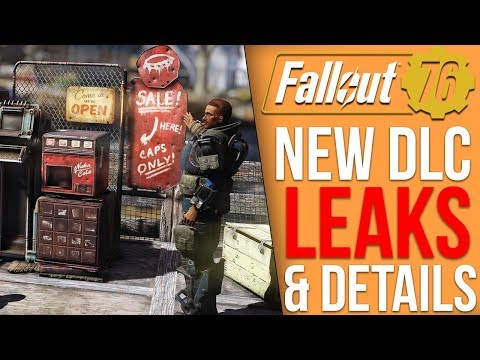 Fallout 76 DLC News - New Leaks and Details, Huge Questline, Player Vending, Next Update