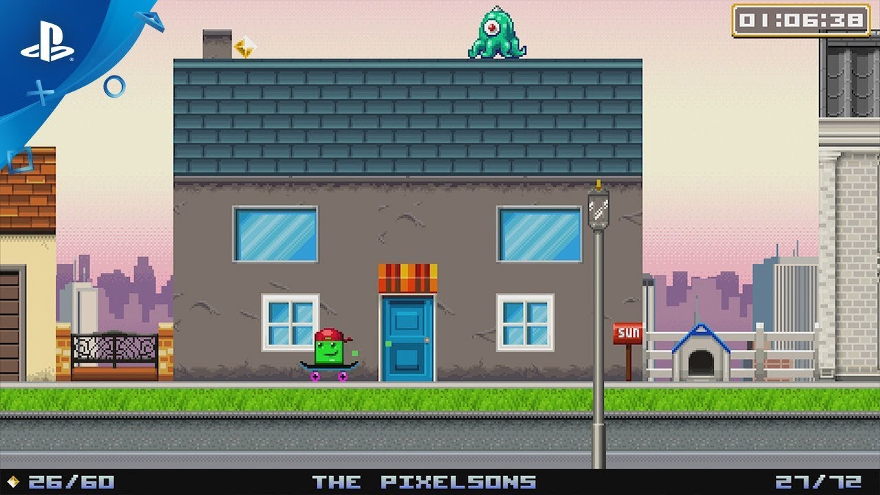 Super Life of Pixel Launches August 22 on PS4, PS Vita
