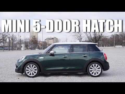 (ENG) MINI 5-door Cooper SD - Test Drive and Review