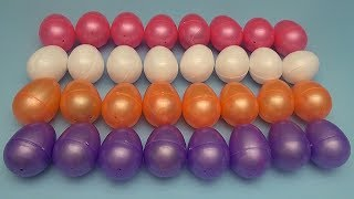 Learn Colours with a Huge Collection of Surprise Eggs!  Lesson 2