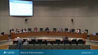 Board of Administration Part 2 on September 26, 2018