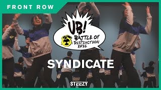 Syndicate [2nd Place] | Ultimate Brawl 2017 | STEEZY Front Row