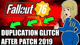 Fallout 76: Duplication glitch working (after patch April 2019) fallout 76 exploits!