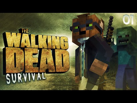 Minecraft - The Walking Dead! Episode 1 (Crafting Dead Mod)