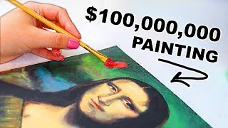 I Painted The Mona Lisa With The World's CHEAPEST Paint...