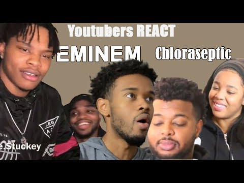 Youtubers React to EMINƎM - Chloraseptic (Remix) ft. 2 Chainz & PHRESHER Compilation
