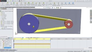 How To Make A Belt And Chain In SolidWorks | SolidWorks Tutorial
