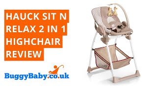 Hauck Sit N Relax 2 in 1 Highchair Review   BuggyBaby Reviews