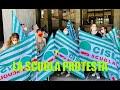 La scuola protesta, le organizzazioni sindacali incontrano il Prefetto
