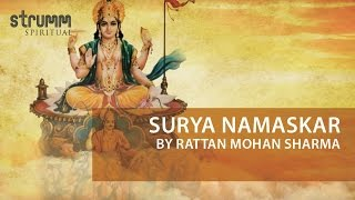 Surya Namaskar 12 names of Surya by Rattan Mohan Sharma
