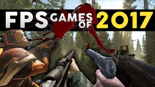 Top 20 NEW FPS Games of 2017