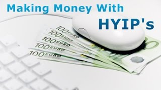 SIMPLE UNDERSTANDING HIGH YIELD INVESTMENT PROGRAMS HYIP'S