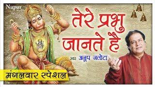 मंगलवार Special भजन - Tere Prabhu Jante Hain  - Anup Jalota - Hanuman Bhajan