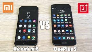 Xiaomi Mi6 vs OnePlus 5 - ЧТО ВЫБРАТЬ? ПОЛНОЕ СРАВНЕНИЕ!