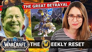 Real Talk About The Blizzard Staff Massacre, And The Special New Loot Of 8.1.5 | WoW BfA News