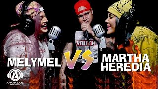 MELYMEL vs MARTHA HEREDIA   Batalla con DJ Scuff  