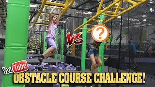 YOUTUBER OBSTACLE COURSE CHALLENGE!!! Human Claw Machine & Trampoline Park CLAMOUR 2018 - DAY 2